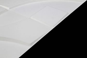 1 m², Paneele 3D Platten Wandpaneele 3D Wandplatten Wand Decke, 50x50cm CARLOS - 3