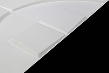 1 m², Paneele 3D Platten Wandpaneele 3D Wandplatten Wand Decke, 50x50cm CARLOS - 4