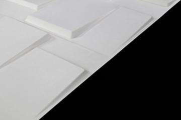 1m², Panel 3D Platten Wandpaneele 3D Wandplatten Wand Decke, 50x 50cm Arthur - 3
