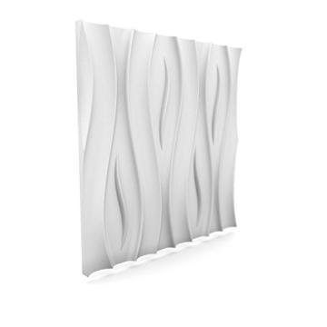 1 Platte 3D Polystyrol Wand Decke Paneele Dekoration Wandplatte 60x60cm, FALA - 5
