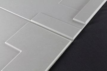 10 m², Paneele 3D Platten Wandpaneele 3D Wandplatten Wand Decke, 62x80cm ARNOLD - 3