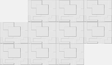 10 m², Paneele 3D Platten Wandpaneele 3D Wandplatten Wand Decke, 62x80cm ARNOLD - 4