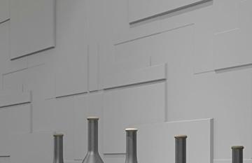 10 m², Paneele 3D Platten Wandpaneele 3D Wandplatten Wand Decke, 62x80cm ARNOLD - 5
