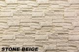 5 m² EPS Dekorsteine Wanddekoration Styropor Platten Verkleidung, STONE BEIGE - 1