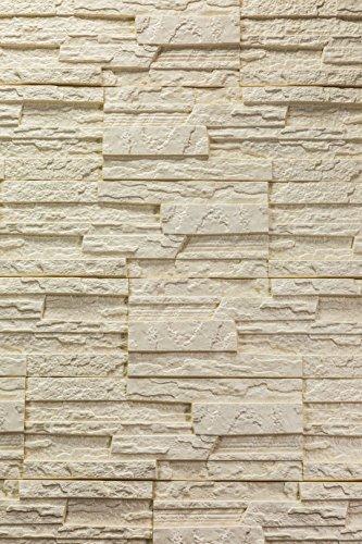 5 m² EPS Dekorsteine Wanddekoration Styropor Platten Verkleidung, STONE BEIGE - 4