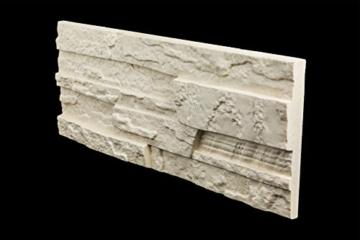 5 m² EPS Dekorsteine Wanddekoration Styropor Platten Verkleidung, STONE BEIGE - 6