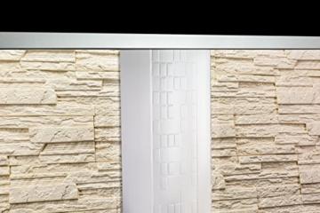 5 m² EPS Dekorsteine Wanddekoration Styropor Platten Verkleidung, STONE BEIGE - 8