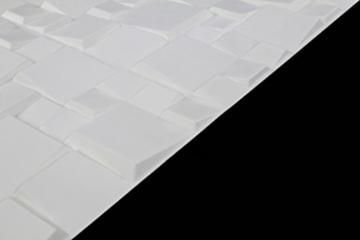 5 m², Paneele 3D Platten Wandpaneele 3D Wandplatten Wand Decke, 50x50cm WILLIAM - 3