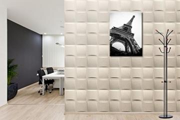 5 m² Platten 3D Polystyrol Wand Decke Paneele Wandplatten 50x50cm, PILLOW - 5