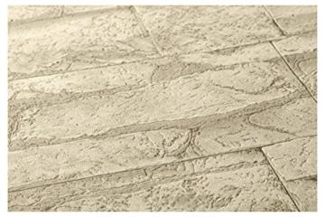 A.S. Création Vliestapete Best of Wood and Stone Tapete in Stein Optik fotorealistische Steintapete Naturstein 10,05 m x 0,53 m beige creme Made in Germany 707130 7071-30 - 3