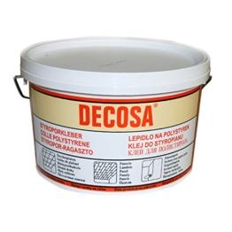 DECOSA Styroporkleber, weiß, 1 Eimer à 4 kg - 1