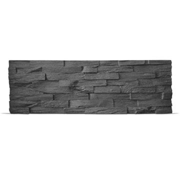 EPS-Schaumstoff Verblendstein UltraLight - Benevento/Wanddekoration / Fliesen/Verblendstein / Wandplatten (Anthracite) - 3