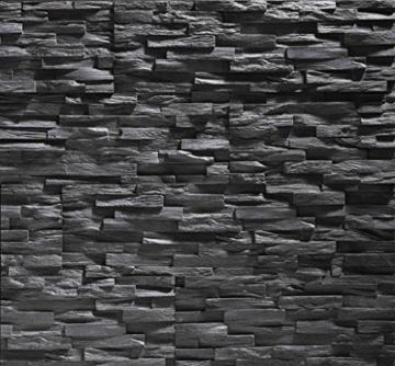 EPS-Schaumstoff Verblendstein UltraLight - Benevento/Wanddekoration / Fliesen/Verblendstein / Wandplatten (Anthracite) - 1