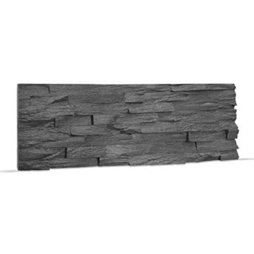 EPS-Schaumstoff Verblendstein UltraLight - Benevento/Wanddekoration / Fliesen/Verblendstein / Wandplatten (Anthracite) - 5