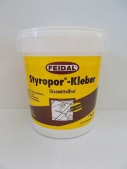 Feidal 1 kg Styropor-Kleber Lösemittelfrei für innen - 1