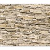 murando - Fototapete Steinoptik 400x280 cm - Vlies Tapete - Moderne Wanddeko - Design Tapete - Wandtapete - Wand Dekoration - Steintapete Steine Stein Mauer Steinoptik 3D f-B-0013-a-a - 1