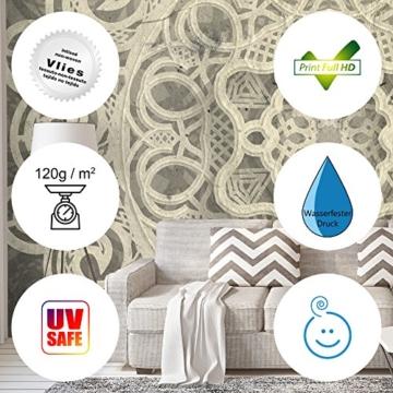 murando - Fototapete Steinoptik 400x280 cm - Vlies Tapete - Moderne Wanddeko - Design Tapete - Wandtapete - Wand Dekoration - Steintapete Steine Stein Mauer Steinoptik 3D f-B-0013-a-a - 5
