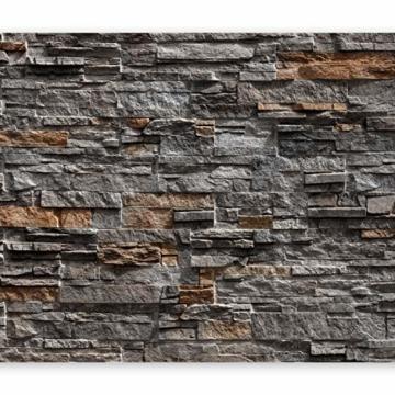 murando - Fototapete Steinoptik 400x280 cm - Vlies Tapete - Moderne Wanddeko - Design Tapete - Wandtapete - Wand Dekoration - Steintapete Steine Stein Mauer Steinoptik 3D f-B-0086-a-b - 1