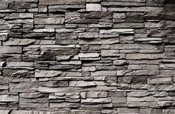 murando - Fototapete Steinwand 400x280 cm - Vlies Tapete - Moderne Wanddeko - Design Tapete - Wandtapete - Wand Dekoration - Steintapete Steine Stein Mauer Steinoptik 3D f-B-0020-a-a - 5
