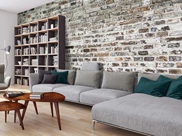 murando - Vlies Fototapete 500x280 cm - Vlies Tapete - Moderne Wanddeko - Design Tapete - Textur Ziegel Mauer Beton f-A-0457-a-a - 3