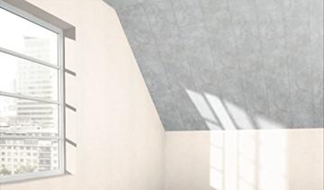 PARADOR MilanoClick - Beton Dekor-Paneele - für Wand und Decke mit Feuchtraumeignung und Nut-Feder-Verbindung - 1326698 - Paket a 2,988m² - 4