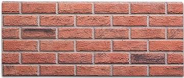 Steinoptik Wandverkleidung für Wohnzimmer, Küche, Terrasse oder Schlafzimmer in Klinkeroptik Look. (ST 353-110) - 7