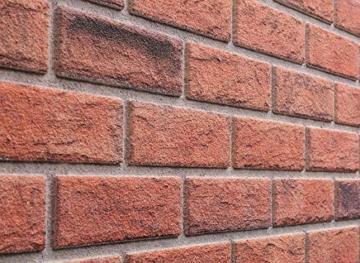 Steinoptik Wandverkleidung für Wohnzimmer, Küche, Terrasse oder Schlafzimmer in Klinkeroptik Look. (ST 353-110) - 8