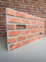 Steinoptik Wandverkleidung für Wohnzimmer, Küche, Terrasse oder Schlafzimmer in Klinkeroptik Look. (ST 353-110) - 1