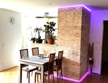 Travertine Light XL Boden Wand Naturstein Mosaik Travertin hochwertig - 1 Matte - 5