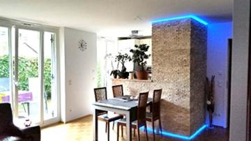 Travertine Light XL Boden Wand Naturstein Mosaik Travertin hochwertig - 1 Matte - 6