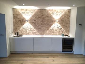 Travertine Light XL Boden Wand Naturstein Mosaik Travertin hochwertig - 1 Matte - 7
