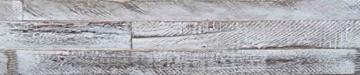 Wandpaneele selbstklebend aus Echtholz von Mywoodwall - Schöne Wandverkleidung - Brushed Coral (weiß), 100% FSC-zertifiziert und Umweltfreundlich, 1 Paket a 1,725m² - 2