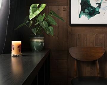 Wandpaneele selbstklebend aus Echtholz von Mywoodwall - Schöne Wandverkleidung - Java (braun), 100% FSC-zertifiziert und Umweltfreundlich, 1 Paket a 1,725m² - 5