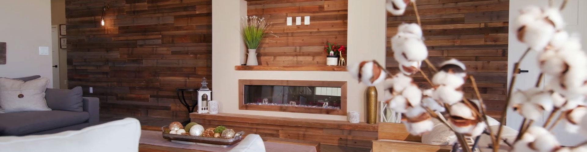 3D Wandpaneelen - Wandverkleidung für Holz-Look Wandpaneelen im ...
