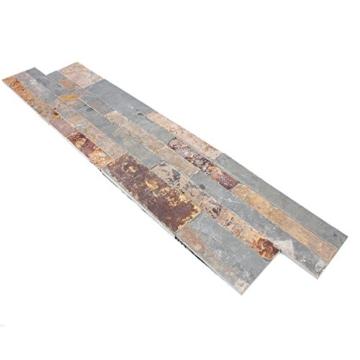 Wandverblender Belling Selbstklebend Gold Rustic   Wandfliesen   Selbstklebende-Fliesen   Schiefer   Fliesen-Bordüre   Ideal für die Küche und Badezimmer (auch als Muster erhältlich) - 2