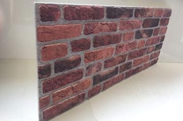 Wandverkleidung in Steinoptik für Schlafzimmer, Wohnzimmer, Küche und Terrasse in Klinkeroptik Look. (ST 351-111) - 3