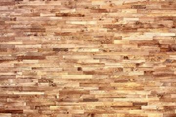 wodewa Holz Wandverkleidung Vintage Optik I 1m² Nachhaltige Echtholz Wandpaneele Moderne Wanddekoration Holzverkleidung Holzwand Wohnzimmer Küche Schlafzimmer V002 - 5