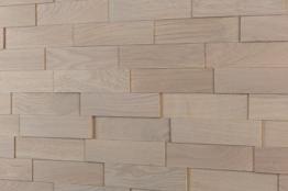 wodewa Wandverkleidung Holz 3D Optik I Eiche Grau I 1m² Wandpaneele Moderne Wanddekoration Holzverkleidung Holzwand Wohnzimmer Küche Schlafzimmer - 1