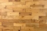 wodewa Wandverkleidung Holz 3D Optik I Eiche Rustikal I 1m² Wandpaneele Moderne Wanddekoration Holzverkleidung Holzwand Wohnzimmer Küche Schlafzimmer I Geölt - 1