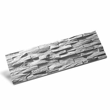 EPS-Schaumstoff Verblendstein UltraLight - Benevento/Wanddekoration/Fliesen/Verblendstein/Wandplatten (Grau) - 5
