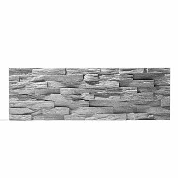 EPS-Schaumstoff Verblendstein UltraLight - Benevento/Wanddekoration/Fliesen/Verblendstein/Wandplatten (Grau) - 6